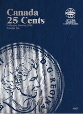 Canada 25 Cents No. 6, 2010-2013, Whitman Coin Folder