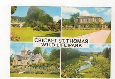 Cricket St Thomas Wildlife Park Somerset Postcard 426a