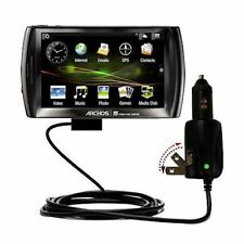 Car & Wall 2 in 1 Charger for Archos 5 Android Internet