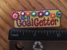 Girl Scout Patch - Goal Getter '10-'11- Part of a cookie set - New - Qty1