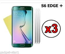 3x HQ CRYSTAL CLEAR SCREEN PROTECTOR COVER FOR SAMSUNG GALAXY S6 EDGE + PLUS