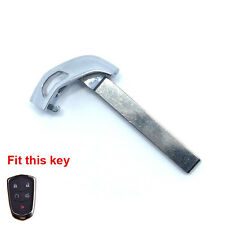 Replacement Emergency Uncut Key Blank Blade for CADILLAC XTS ATS CTS Smart Key