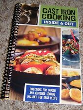 Cast Iron Cooking Cookbook Outdoor Cooking + Dutch Oven, Skillet, Pie Iron + NEW
