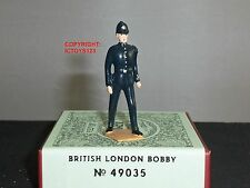 Britains 49035 british london bobby policier en métal toy soldier figure