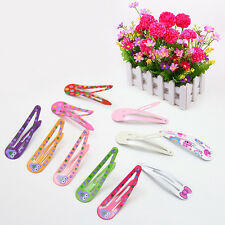 10x Girl Baby Clip hairpin Piece DIY Hairpin Accessories Kids Hair Access Set