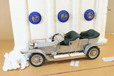 FRANKLIN MINT 1/12 1907 ROLLS ROYCE SILVER GHOST BOXED ni