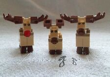 *! Genuine New Lego Rudolph The Reindeer With Family Split From Set 10245 !