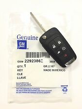 NEW Genuine OEM Chevy GM Switchblade Flip Key 5 Button Remote for 2011-2013 VOLT