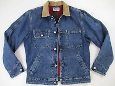 Vintage Polo Ralph Lauren Trucker Jacket Authentic Dungarees Denim USA Men's L