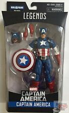"CAPTAIN AMERICA Civil War + BAF MARVEL LEGENDS Wave 1 Hasbro 2016 6"" INCH FIGURE"