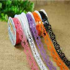 Adhesive Decoration Lace Ribbon reform Tape 1M Roll Scrapbooking Embellishment B