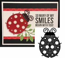Lady Bug dies LADYBUG Large SERENDIPITY cutting die 017GD Animals,Insects