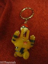 1 Pokemon-Schlüssel-Anhänger/Figur:Elekid/4,5cm,Key-Charm/Figure/gebraucht,F14