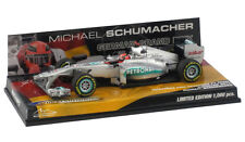 Michael Schumacher Car 1:43 Minichamps Mercedes 2012 Showcar Hockenheim
