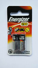 Energizer N E90 MN9100 AM5 LR1 UM-5 KN 1.5V Battery x2pcs Sealed Pack Air Ship