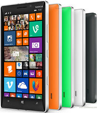 "NOKIA LUMIA 930 4G 5"" 32GB 20MP WINDOWS PHONE 8.1 SMARTPHONE SIM FREE IN 4 Color"