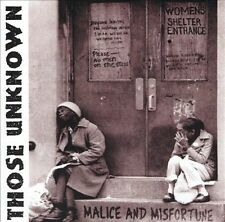 Those Unknown CD Malice & Misfortune CD sealed garage punk TKO records new