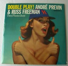 Andre PREVIN & Russ FREEMAN Double play! FRENCH LP CONTEMPORARY(1984) Sealed !!!