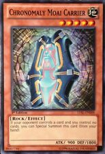3x Chronomaly Moai Carrier - LVAL-EN008 - Common - 1st Edition YuGiOh NM LVAL -