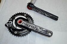 ROTOR 3D+ Power 2 Max 172.5 mm Double Mountain Bike Crankset Power Meter 120/80