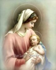 VIRGIN MARY & BABY JESUS Madonna & Child 8x10 Catholic Religious Picture Print