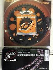 EK 520GP 3D Gold Chain and Driven Sprocket kit Yamaha YZF-R1 2015 2016 R1M