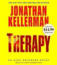 Jonathan Kellerman Therapy audiobook CD Abridged