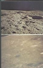 1972 Apollo 14 Pictures of the Moon from inside the LEM, PC unused