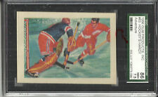 1956 ADVENTURE #63 GORDIE HOWE RAYNER HOCKEY'S HARDY PERENNIALS SGC 86(7.5) NM+