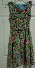 LOT OF 2 NANETTE LEPORE Women Multi-colored Silk Skirt / Dress Size 0 Value $425