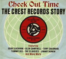 CHECK OUT TIME-CREST 2 CD NEW+ TOMMY DEE/TOM TALL/BO DAVIS/THE CLASSICS