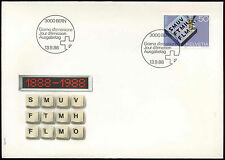 Switzerland 1988 federal Office Of Topography FDC First Day Cover #C20108