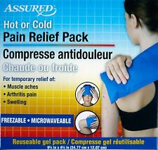 New Assured Hot Cold Pack Back Pain Relief Therapy - Muscle Aches Arthritis Pain