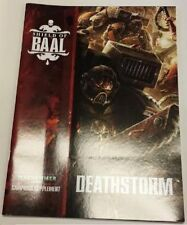 Blood Angels Tyranids DEATHSTORM Shield of Baal Campaign Supplement Booklet 40K