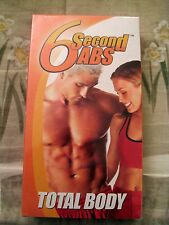 6 Second Abs  Total Body VHS Savvier NEW