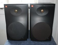 JBL 6208 Bi-Amplified Active Reference Studio Monitors Speakers - Black Pair