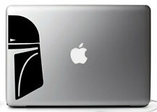 "STICKERS BOBA FETT FACE - STARWARS MACBOOK PRO AIR 11, 13, 15 17"" mac book"