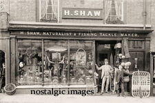PHOTO TAKEN FROM A VICTORIAN IMAGE FISHING TACKLE SHOP IN SHREWSBURY