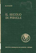 PLUTARCO IL SECOLO DI PERICLE 1969 ED.PER IL CLUB DEL LIBRO (UA938)
