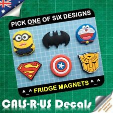 Key Holder Fridge Magnet Minion Batman Doraemon Superman America Transformers