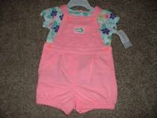 Carter's Baby Girls Island Cutie Shortall Set Outfit Size 12 Months 12M NWT NEW