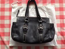 COACH bag Black Full Grain Leather with serial number