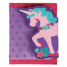 Stephen Joseph Unicorn Wallet for Girls - Money Holder for Kids