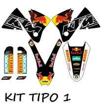 kit pegatinas ktm exc-sx 125-520, 2000, 2001, 2002  sticker, adhesivos, graphics