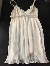 Jonquil In Bloom White Chemise Nightie Wedding Bridal Lingerie Small Babydoll