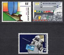 Netherlands - 1989 150 years railways Mi. 1366-68 MNH