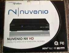 NFUSION NUVENIO NV HD  Digital FTA SATELLITE & TERRESTRIAL RECEIVER NEW