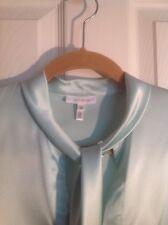Escada turquoise  silk blouse size 8(38)
