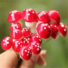 FD1530 Mini Foam Mushroom Landscape Garden Decor Ornament Bonsai DIY 2CM ~5PCs A