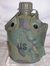 U. S. Army 1976 Woodland Canteen Camouflage Cover Camo With Pocket R&D US